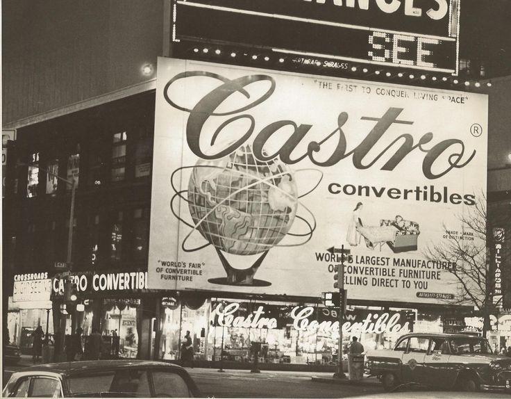 Times Square Billboard Circa 1970u0027s