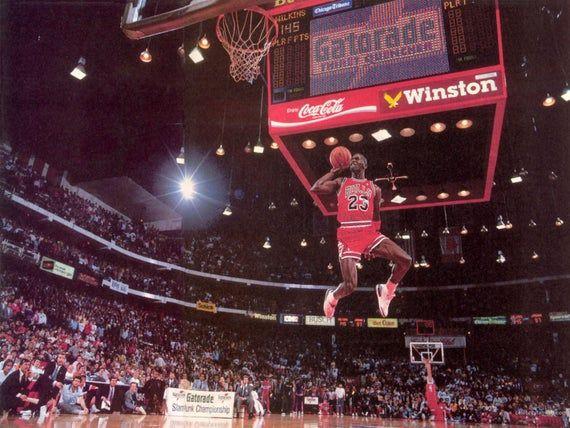Berühmte Michael Jordan Poster – 24 x 36 – Premium Poster Papier   – Products