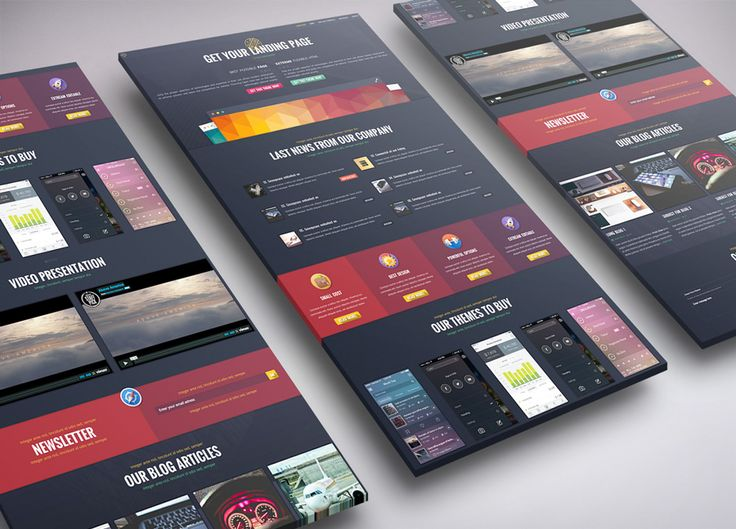 Responsive webdesign landing page . Looking for premium design ? #webdesign Get this layout in here - http://themeforest.net/item/styled-products-landing-page/9609821