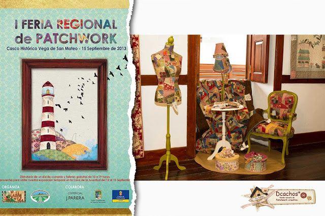 I Feria Regional de PAtchwork en Canarias   --> www.dcachos.es