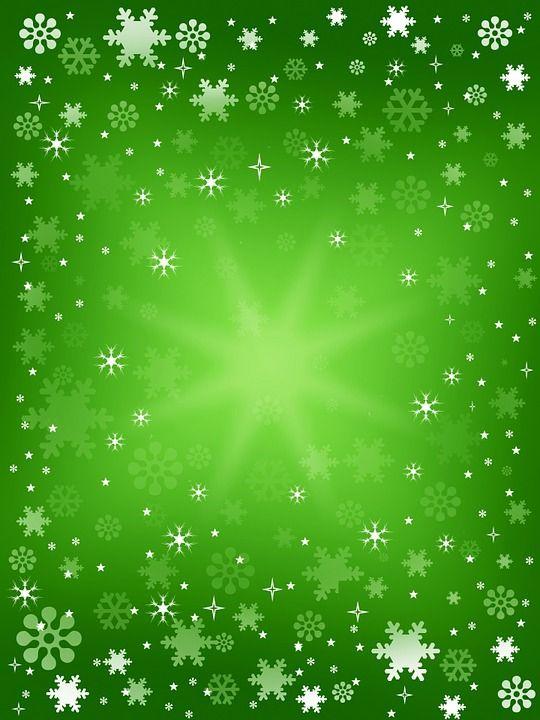 Tle, Tło Zima, Zima, Śnieg, Płatki Śniegu, Gwiazd
