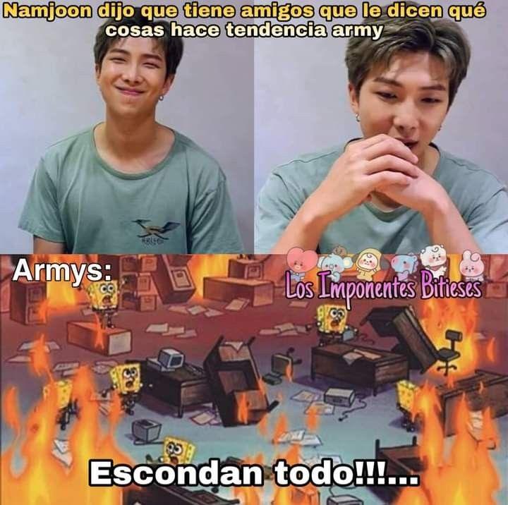 Pin De Maria Fernanda En I M Bts Trahs En 2020 Bts Memes Memes Divertidos Memes Coreanos