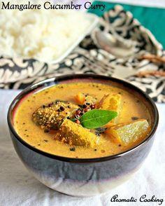 Mangalore Cucumber ( Vellarikkai ) Curry