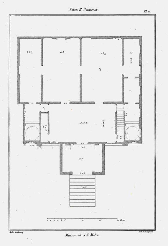 27 Best Images About Architecture Antique Floor Plans On