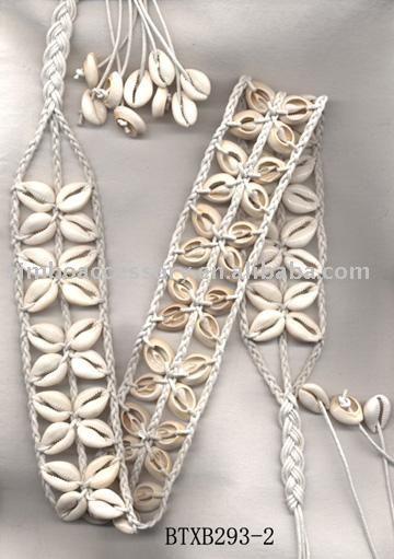 Fashion Waxed Cord Macrame Braid Belt With Shell - Buy 2012 Fashion Waxed Cord Braid Belt,Handmade Shell Belts,Ladies Belt Product on Alibaba.com