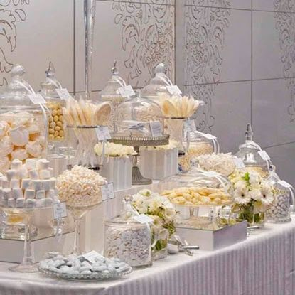 Create a White (and silver) Themed Dessert Bar #PrpepyPlanner