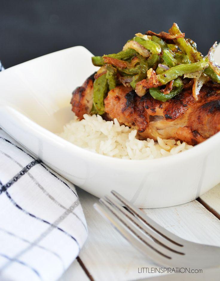 Teriyaki Marinated Chicken Recipe #kikkomansabor » Little Inspiration
