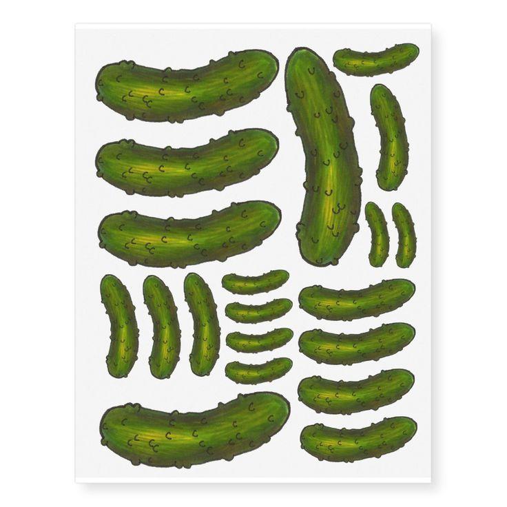 Pickle Tattoo Designs