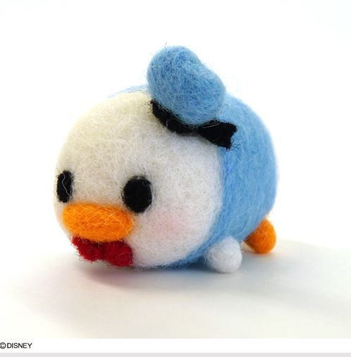 Disney Tsum Tsum Needle Felting Kit Donald Donald by JapanPop