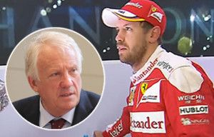 """Sebastian Vettel could be banned from the Brazil Grand Prix for telling F1 chief to """"f*** off"""" after row with teenager Max Verstappen"""