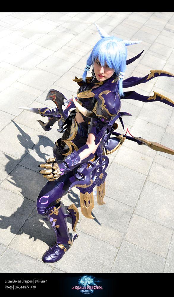 ☆☆ Evil Sirens FFXIV Dragoon Cosplay as Esumi Aoi :3 ☆☆