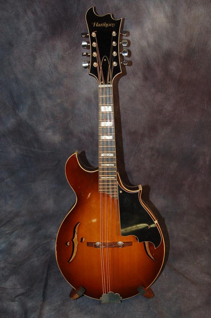 1972 Harmony Batwing Mandolin See In My Ebay Store Lawman