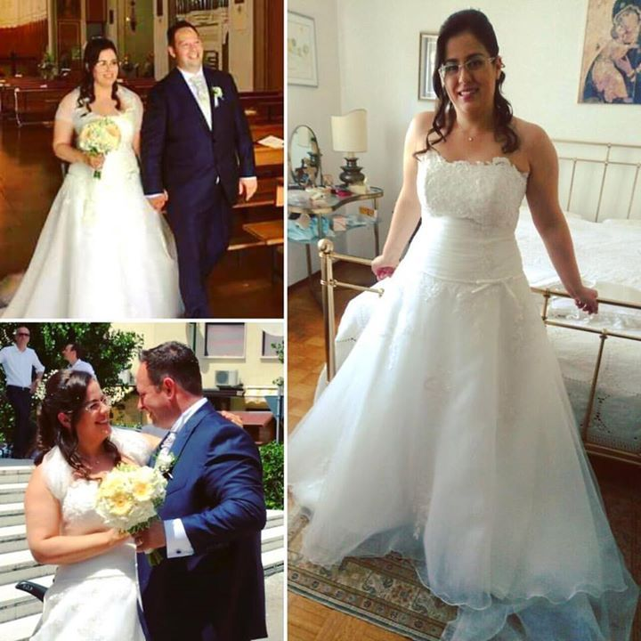 I sorrisi della nostra sposa Caterina e del suo Filippo (17/06/2017) sono una meravigliosa ricompensa #marialuisabenetti #marialuisabenettisposa #venice #mestre #followme #pleasefollowme #2017 #2018 #newcollection #weddingdress #wedding #weddingparty  #celebration #cerimony #congratulation #originalbride #bride #groom #romance #love #loveforever #forever  #marriage #masterpiece #beautiful #fashion #style #picoftheday #instawedding #instafashion #instalove #photooftheday