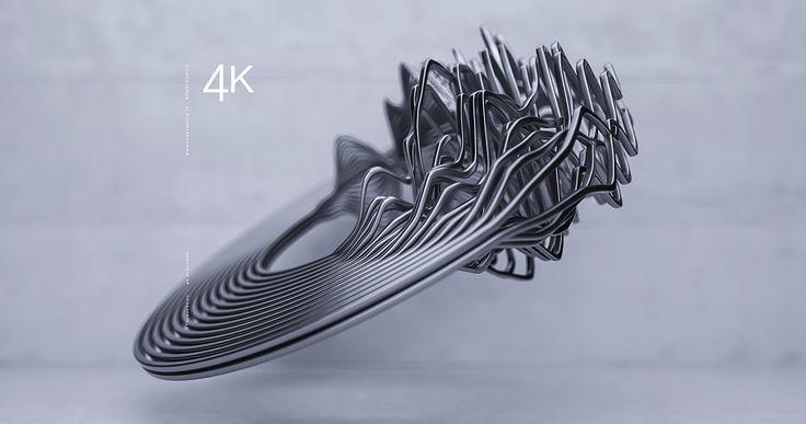 Freq. 4K on Behance
