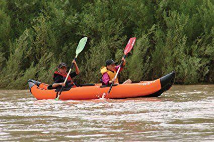Amazon.com : AIRHEAD AHTK-2 Montana Performance 2 Person Kayak : Inflatable Kayak : Sports & Outdoors