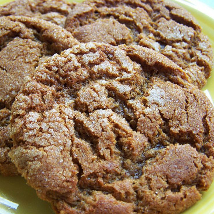 Molasses Crinkle Cookies | Recipe