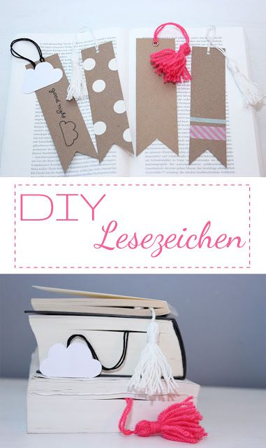 DIY Lesezeichen basteln; perfektes Geschenk für Bücherwürmer!