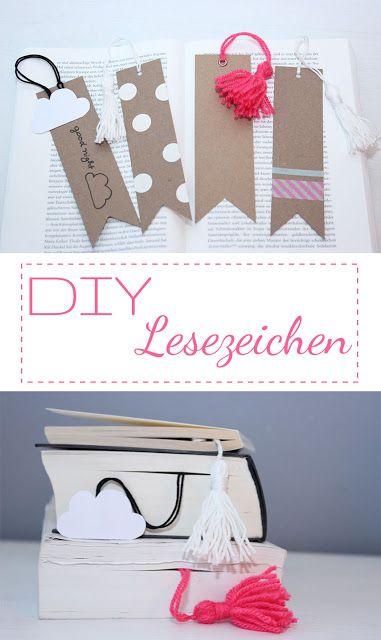 DIY Lesezeichen basteln; perfektes Geschenk für Bücherwürmer! #diy #deko #decoration #trend #tutorial #anleitung #selbermachen #filizity