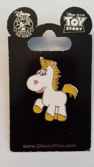 2010 Unicorn From Toy Story 3 Movie Disney Pin Trading Collectible Lapel Pin