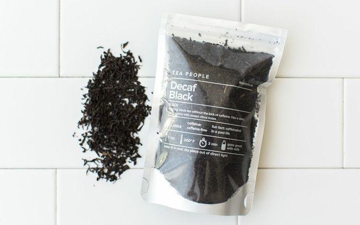 Tea People Decaf Black x 2