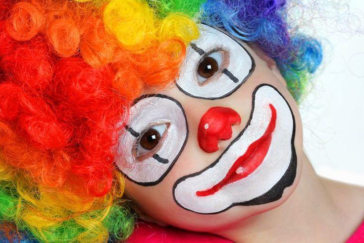 10 maquillages faciles r aliser halloween et clowns - Comment faire un maquillage de clown qui fait peur ...