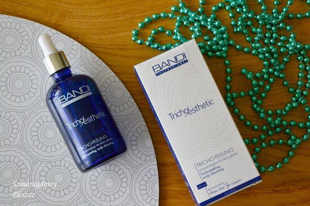 Szmaragdowy Deszcz: BANDI Professional oczyszczający Tricho-Peeling do skóry głowy