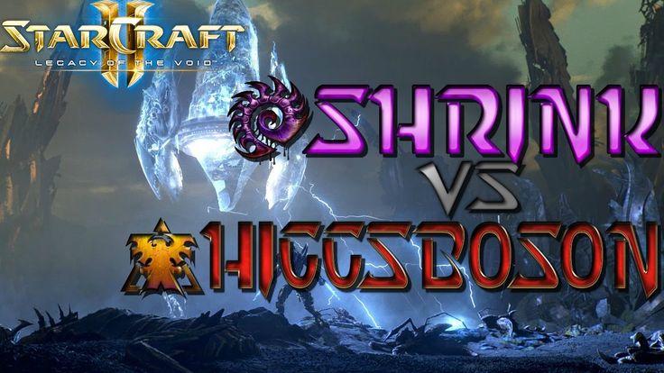 New Patch New Replays! Starcraft 2 Diamond League Cast: Shrink(Z) vs. HiggsBoson(T) #games #Starcraft #Starcraft2 #SC2 #gamingnews #blizzard