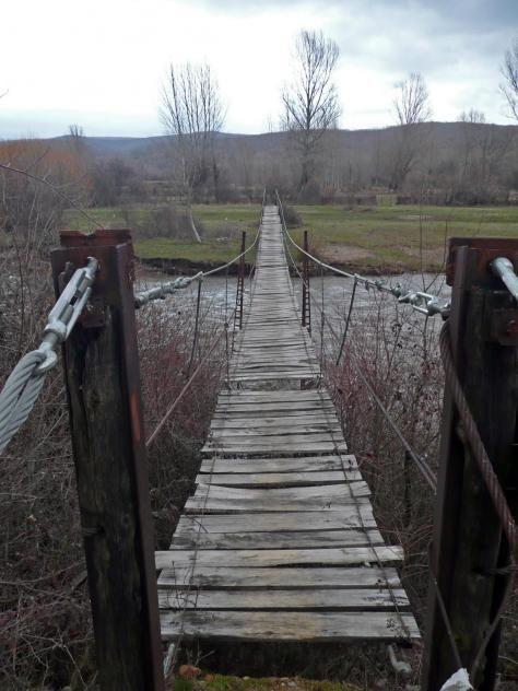 Puente colgante de la Flecha