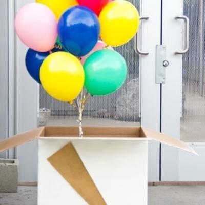 Suprise Ballon Gift