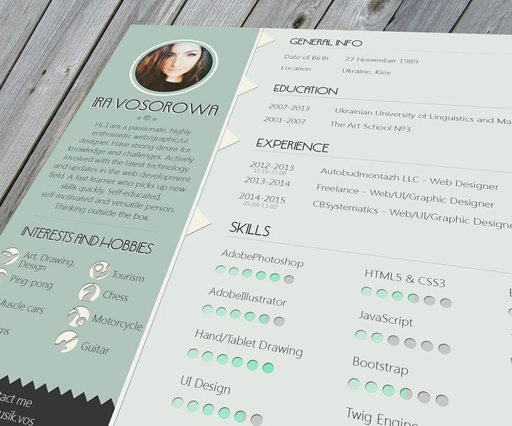 61 best Free CV Resume Templates images on Pinterest Cv resume - cv and resume templates
