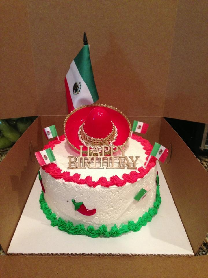 Mexican Theme Cake Cakes And More Mexican Birthday
