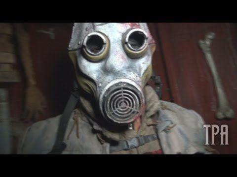 ▶ THE BACKWOODS Home Haunt Maze Flow-Through 2012 - YouTube
