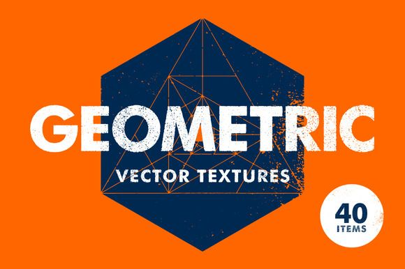 Geometric Vector Textures by Offset on Creative Market