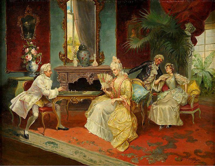 Henricus Reyntjens - Game of Chess