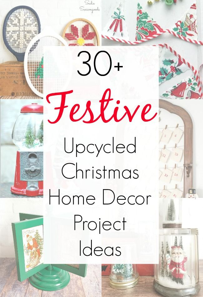 Amazing Upcycling Ideas For Christmas Home Decor And