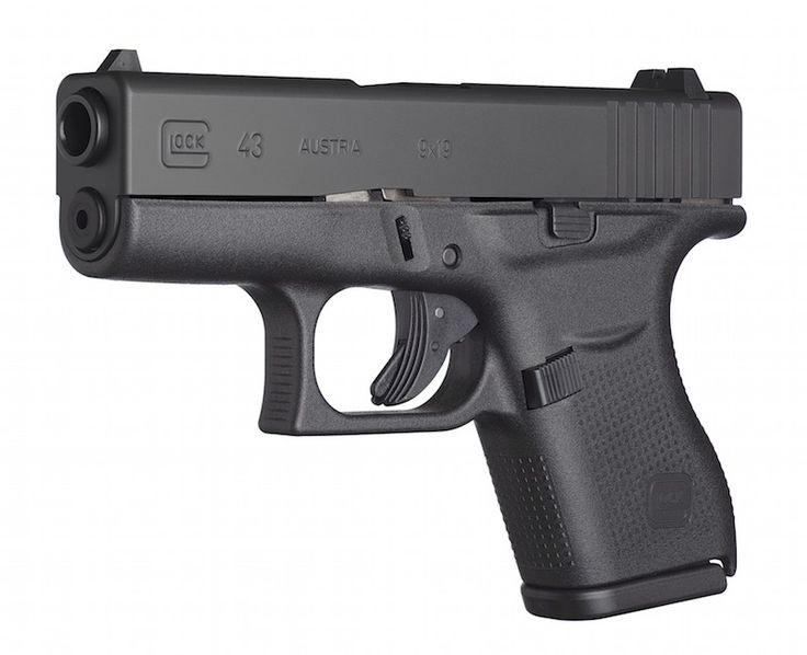The New GLOCK 43. 9mm