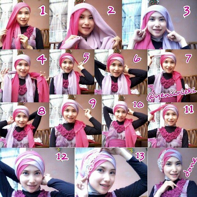 Tutorial Hijab Dewi Sandra Di Iklan Wardah Tutorial Lif Co Id