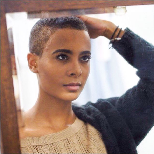 80 Best Hair Women With Buzzcuts Crewcuts And Flat Tops