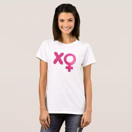 Cool Valentine Venus Symbol XO Couple T-Shirt - cool gift idea unique present special diy