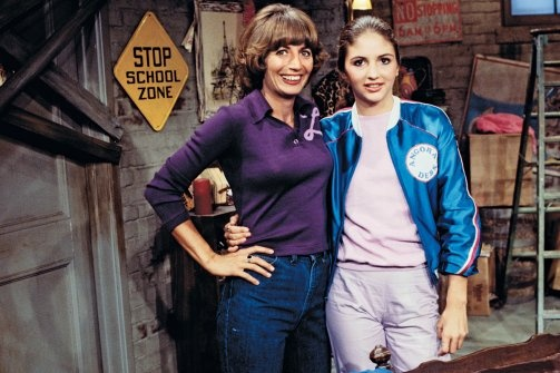 Penny Marshall and daughter Tracy Reiner