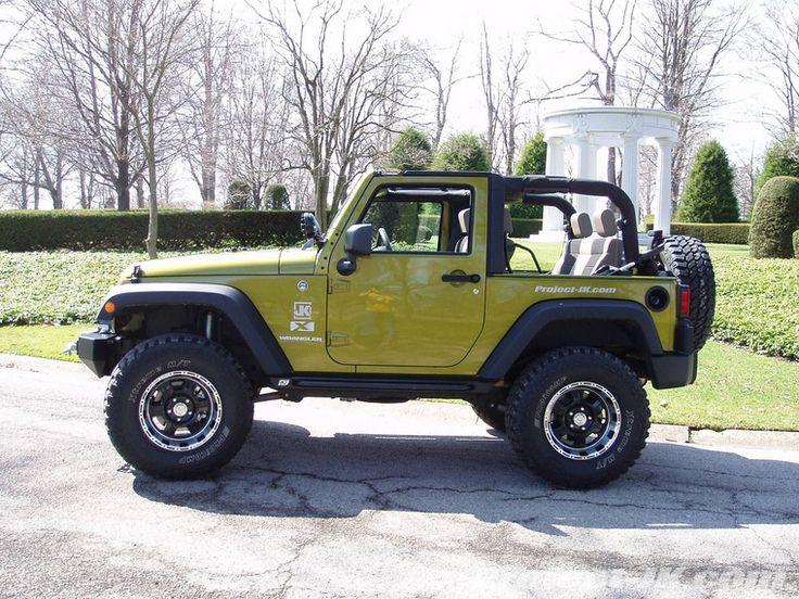 jeep wrangler 2 door Google Search Green jeep wrangler