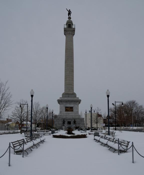 Battle of Trenton monument