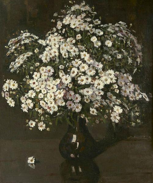 Lucie van Dam van Isselt,  Chrysanthemums 1930-35  ZsaZsa Bellagio – Like No Other: White House