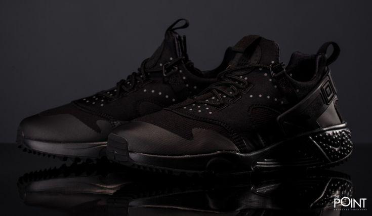 Nike Air Huarache Utility Total Black