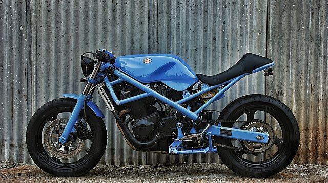 suzuki bandit cafe racer studio motor motorcycles. Black Bedroom Furniture Sets. Home Design Ideas