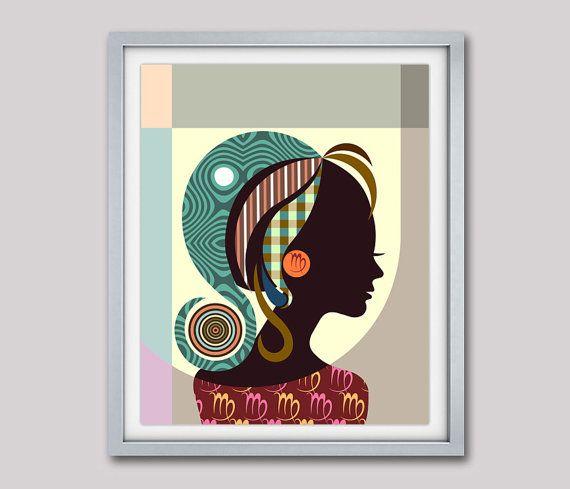 Virgo Art, Virgo Star Sign Poster, Virgo Gift, Virgo Print Wall Art, Virgo Art Print, Zodiac Gift, Horoscope Gift AVAILABLE FOR SALE