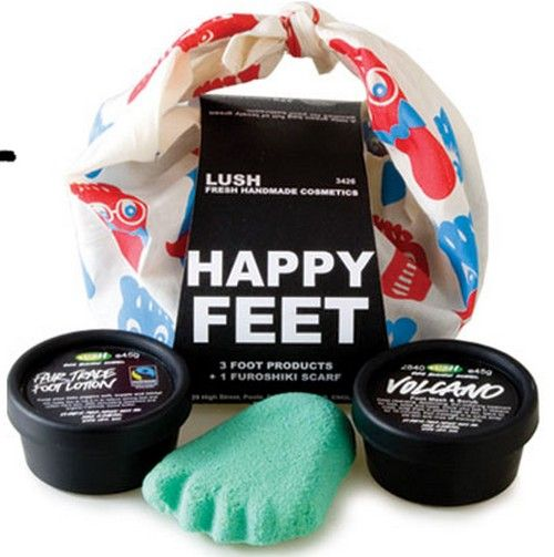 Win! One of  three Happy Feet kits from ~LUSH~ exp-July 3/12