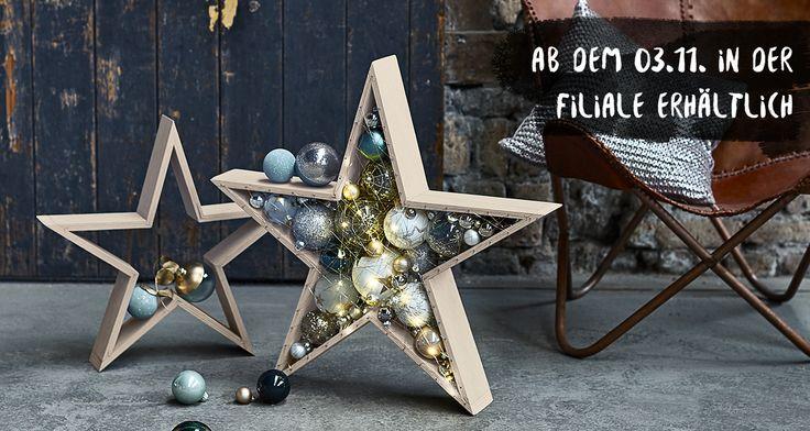 Ein stylischer Hingucker für kreative Bastler: Der DEPOT Tipp auf dem Schön bei Dir-Blog bringt Euch Schrift für Schrift zum fertigen Weihnachtsstern.