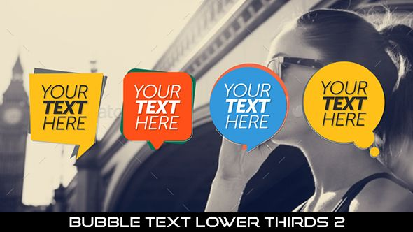 Bubble Text Lower Thirds 2  12 Lowerthirds | Full HD 1920×1080 | Quicktime PNG alpha codec | Each 10 seconds.  Available in 4 colors : Yellow, Orange, Green, Blue  #envato #videohive #motiongraphic #aftereffects #lowerthird #broadcast #bubble #bubbletext #caption #cartoon #corporate #flat #modern #professional #simple #television #text #title #youtube