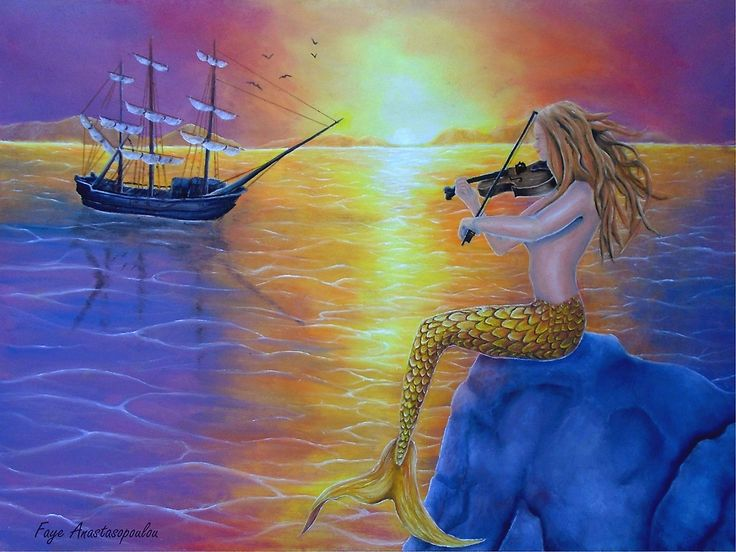 mermaid,painting,sitting,fantasy,scene,seascape,sunset,marine,nautical,mythical,creature,legendary, violin,fiddle,music,player,rock,aquatic,life,tail,fin,magical,nude,feminine,romantic,nostalgic,fish,sunlight,atmospheric,moody,vivid,colroful,purple,beautiful,mesmerizing,awesome,cool,unique,contemporary,realistic,figurative,fine,oil,wall,art,images,home,office,decor,artwork,modern,items,ideas,for sale,redbubble